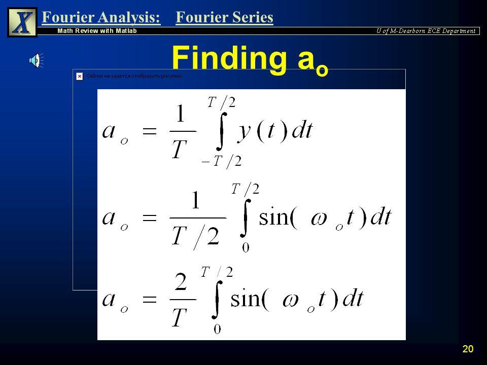 Finding ao