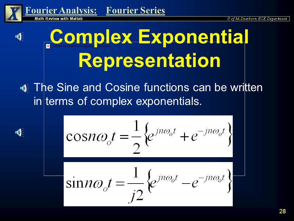 Complex Exponential Representation
