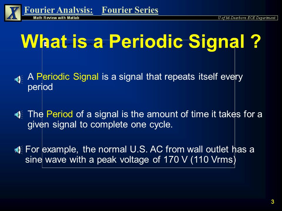 What is a Periodic Signal