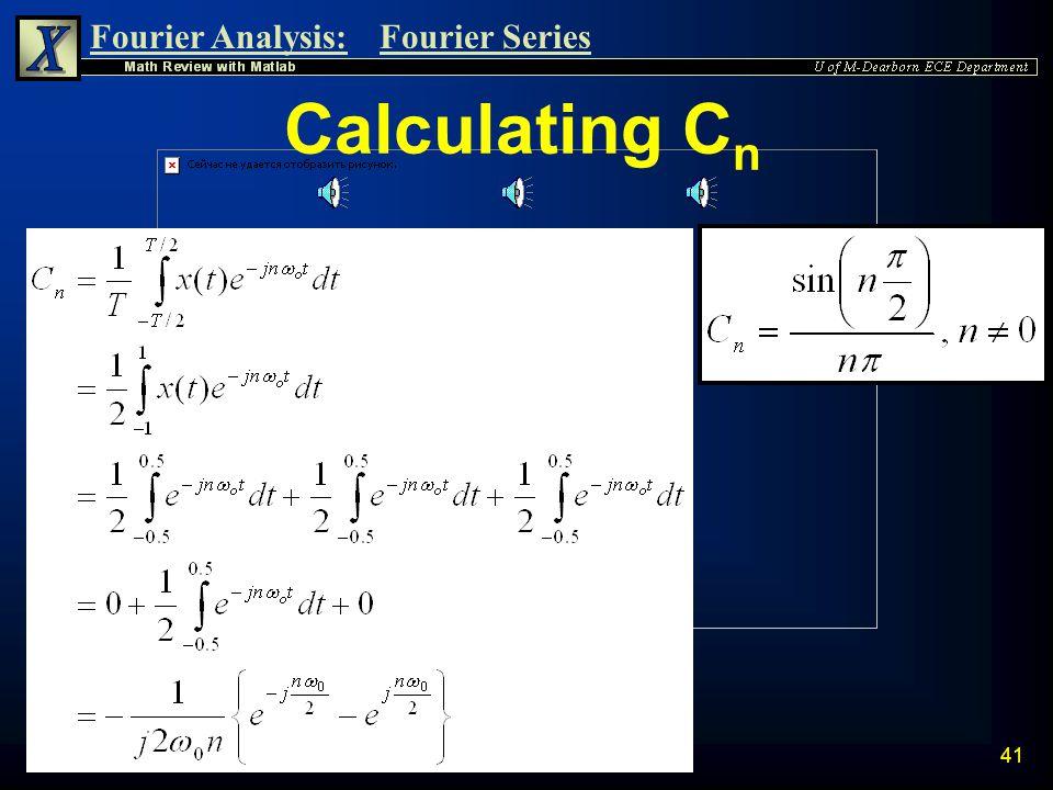 Calculating Cn