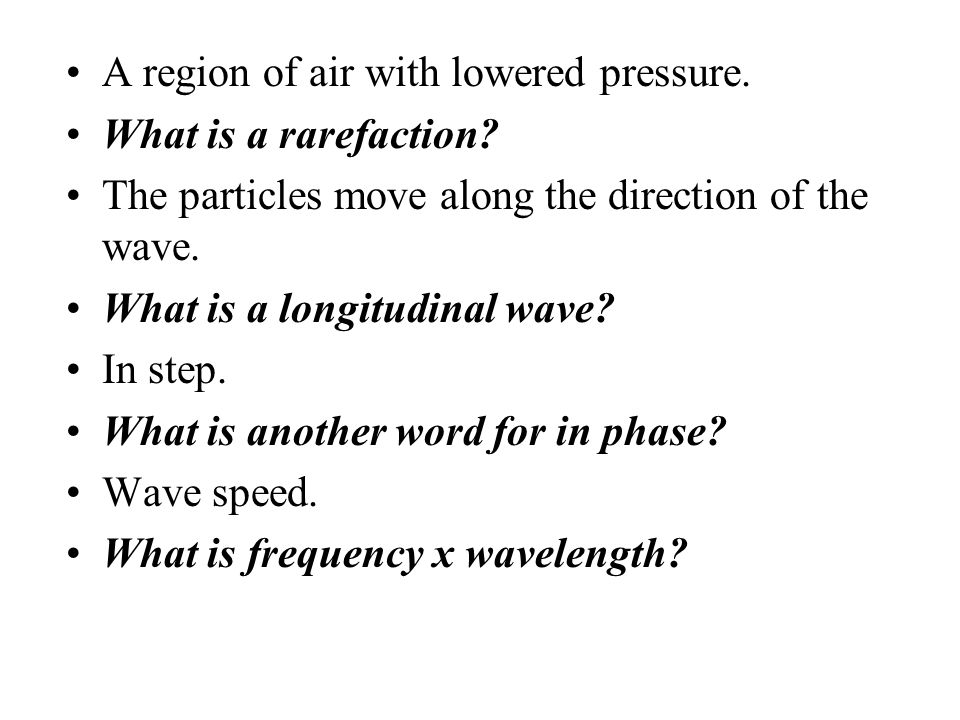 A region of air with lowered pressure.