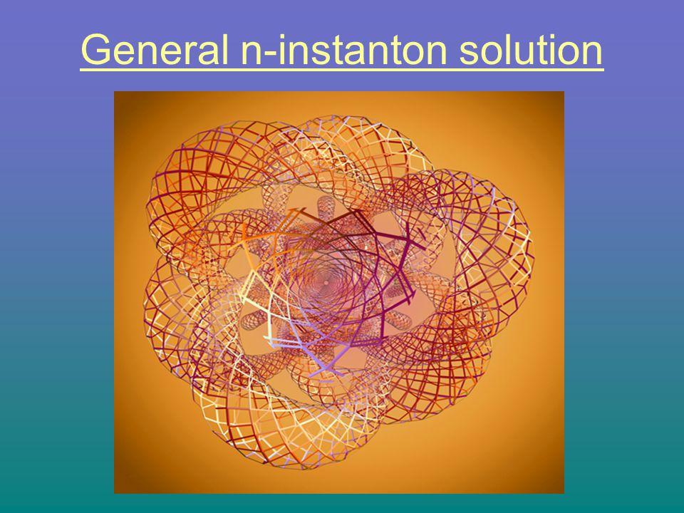 General n-instanton solution