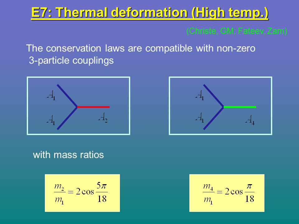 E7: Thermal deformation (High temp.)