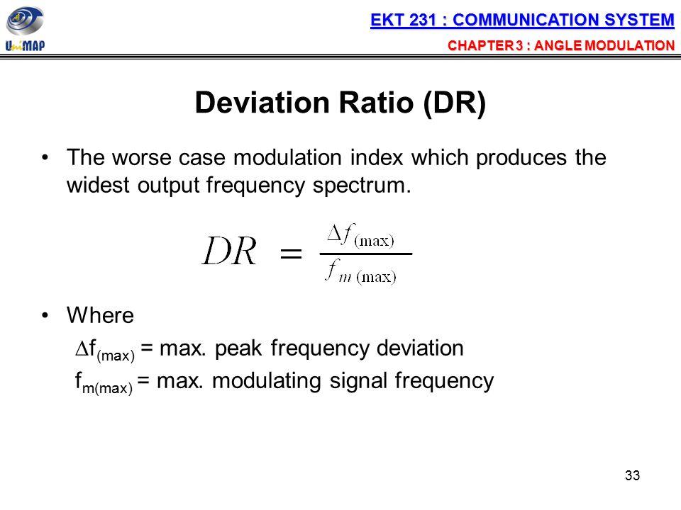 EKT 231 : COMMUNICATION SYSTEM