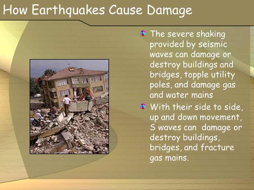 How Earthquakes Cause Damage