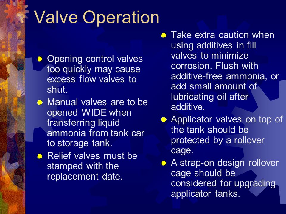 Valve Operation