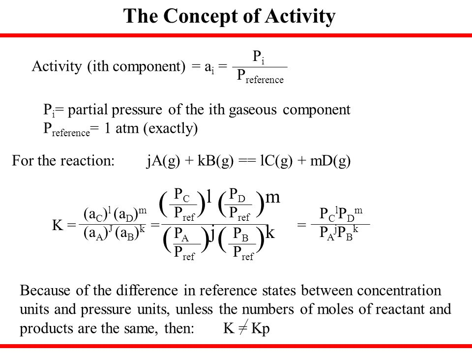( )l ( )m ( )j ( )k The Concept of Activity Pi Preference