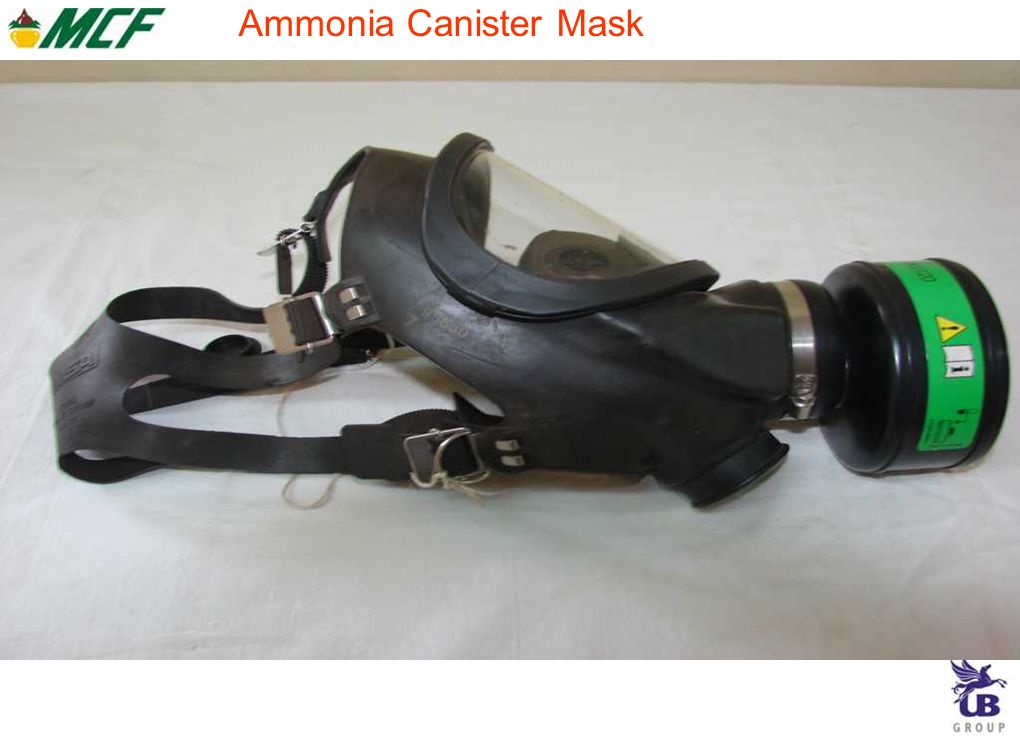 Ammonia Canister Mask