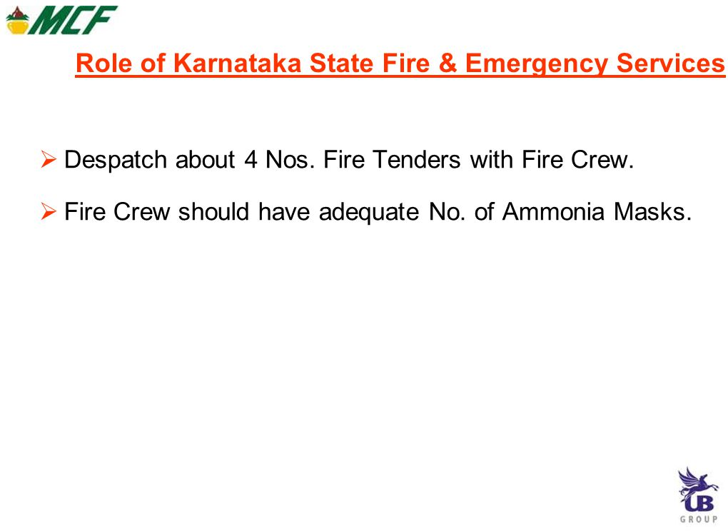 Role of Karnataka State Fire & Emergency Services