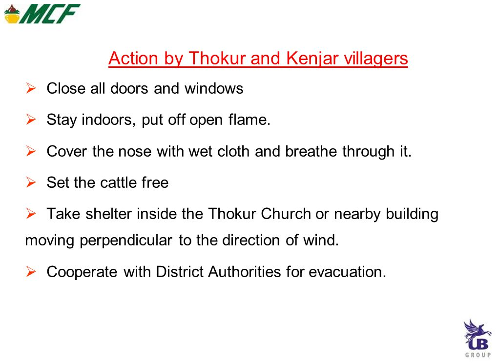 Action by Thokur and Kenjar villagers