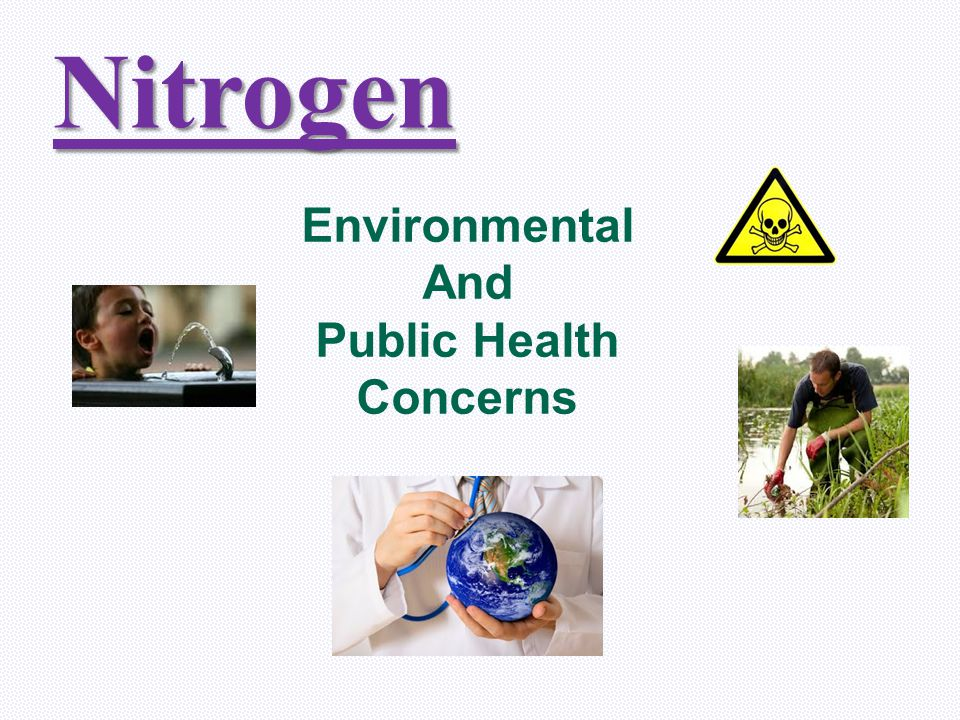 Nitrogen Environmental And Public Health Concerns