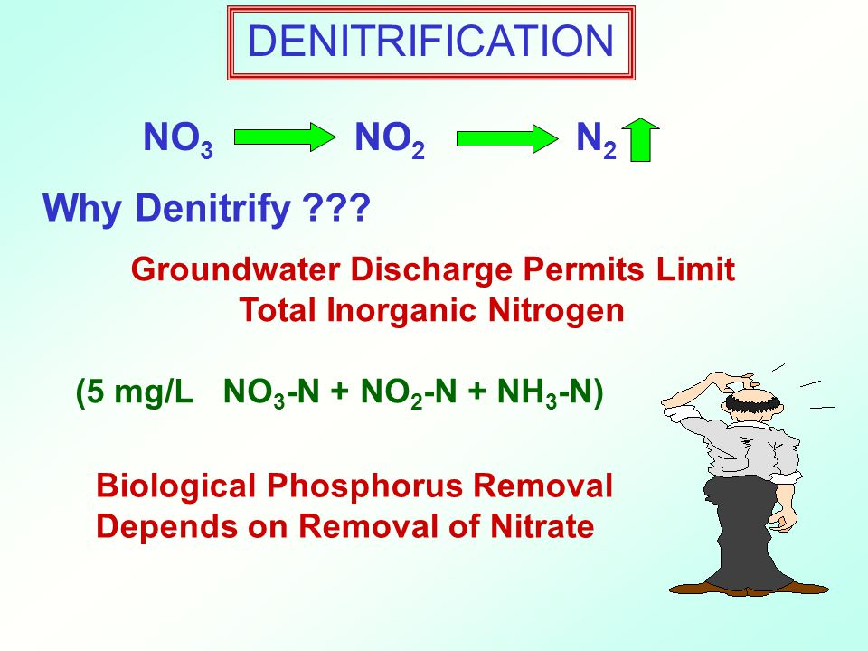 Groundwater Discharge Permits Limit Total Inorganic Nitrogen