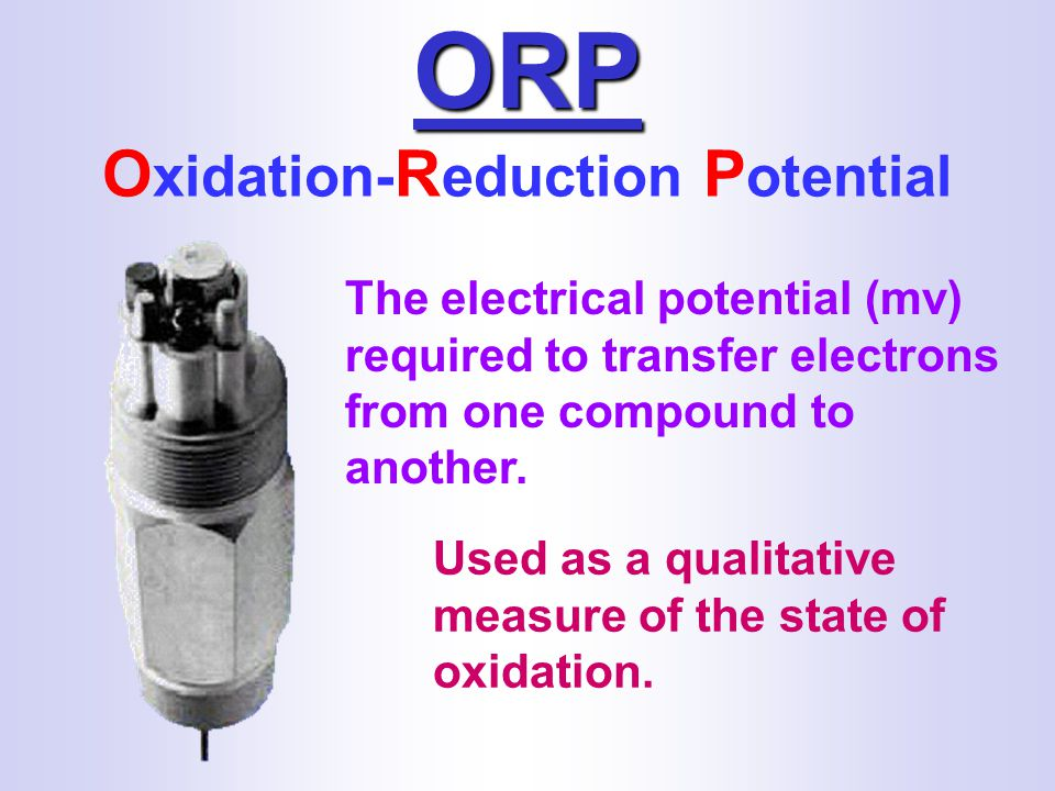 Oxidation-Reduction Potential