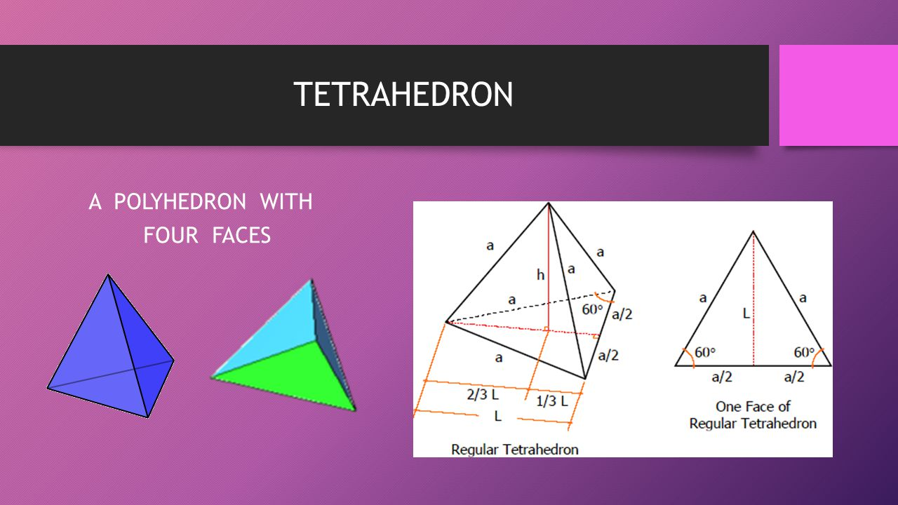 A POLYHEDRON WITH FOUR FACES