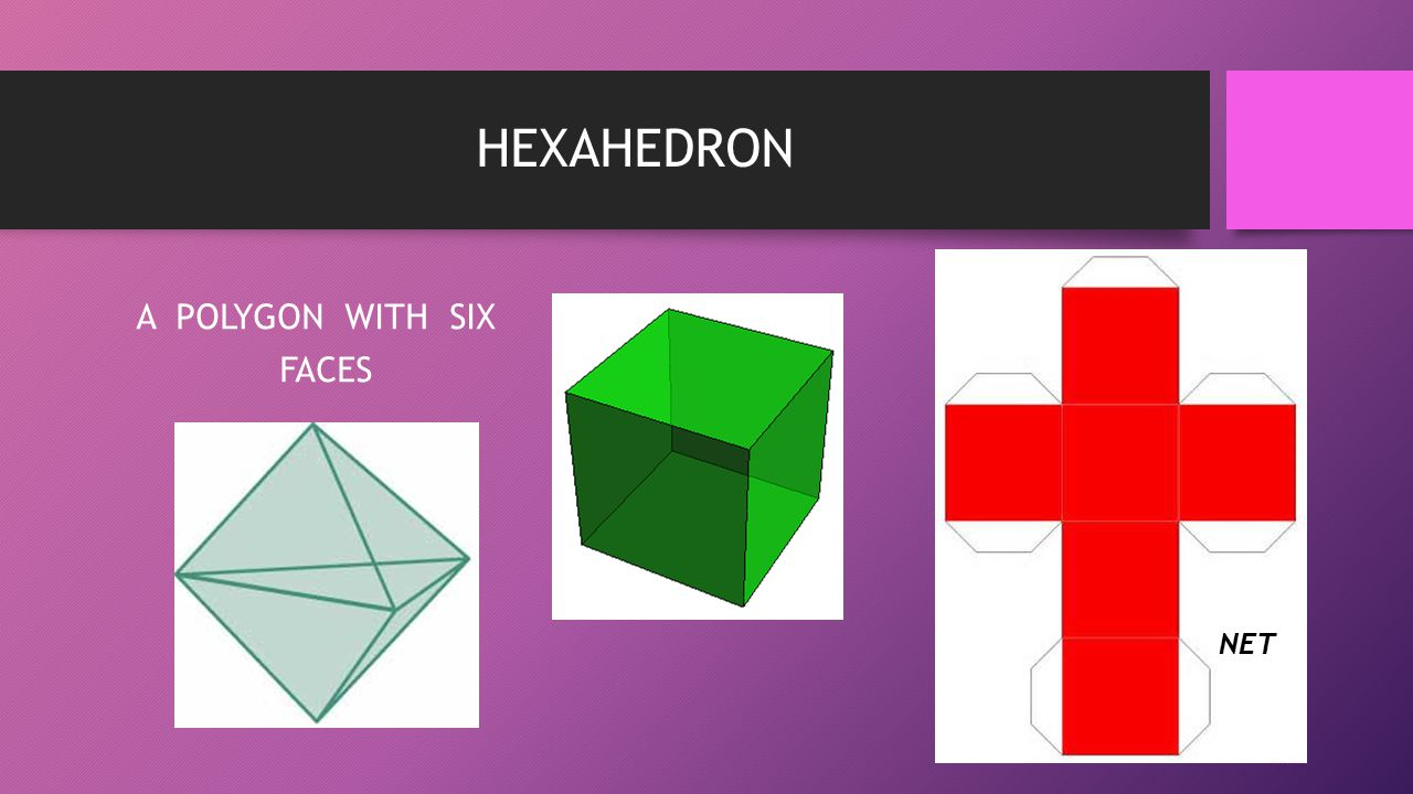 A POLYGON WITH SIX FACES