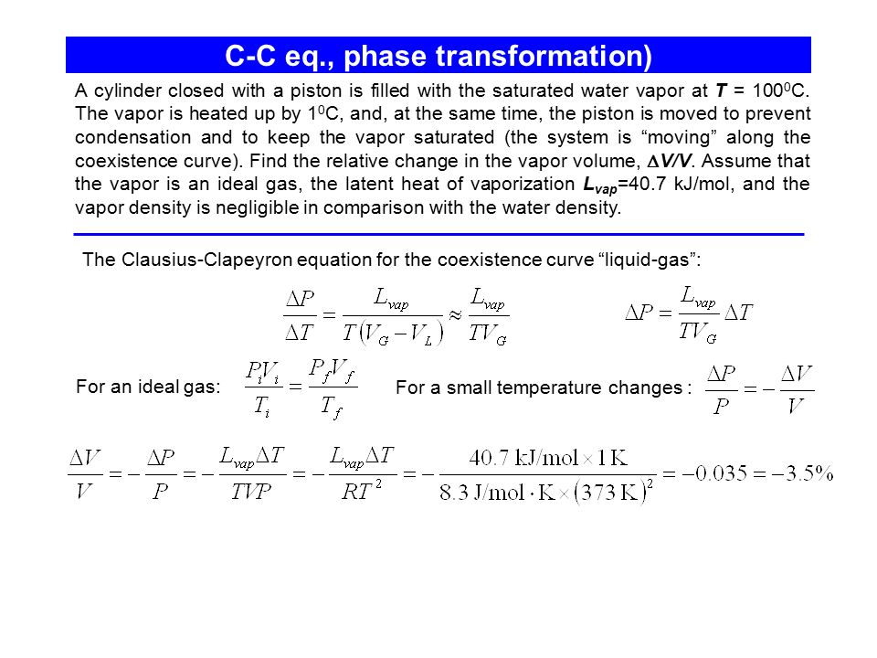 C-C eq., phase transformation)