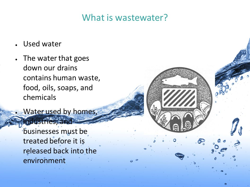 What is wastewater Used water