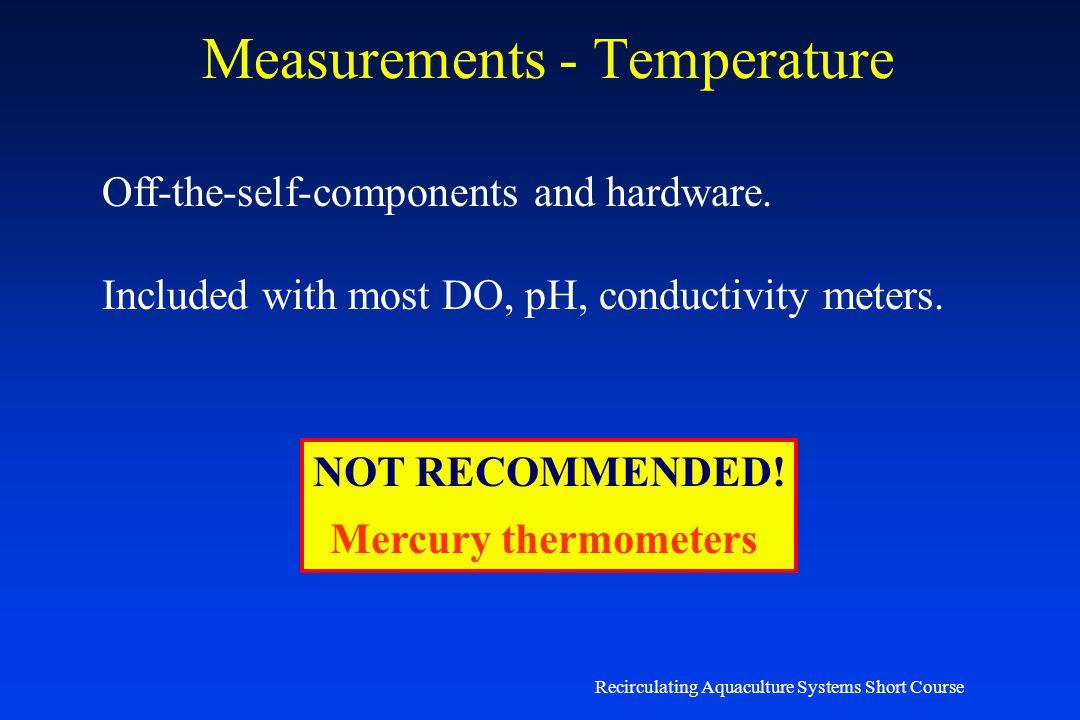 Measurements - Temperature