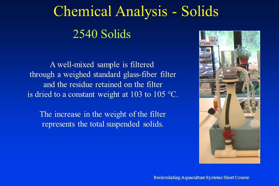 Chemical Analysis - Solids