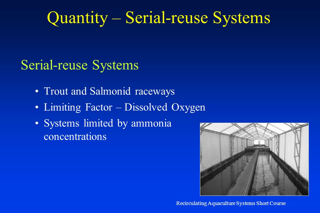 Quantity – Serial-reuse Systems