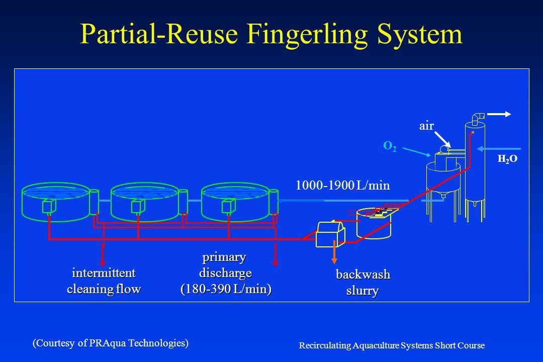 Partial-Reuse Fingerling System