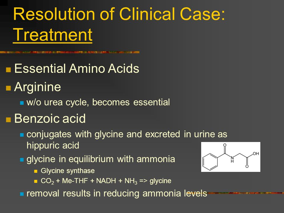 Resolution of Clinical Case: Treatment