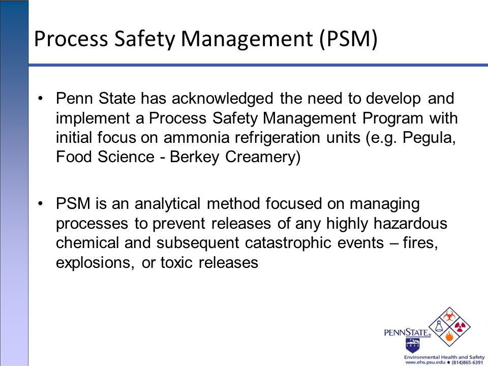 process safety managament