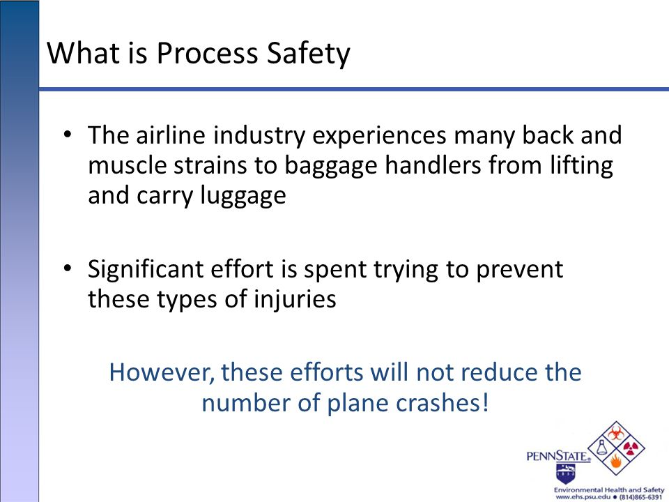 However, these efforts will not reduce the number of plane crashes!