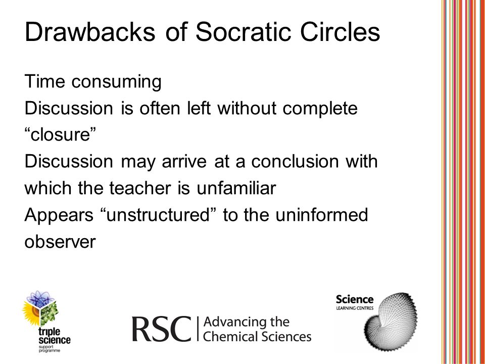 Drawbacks of Socratic Circles