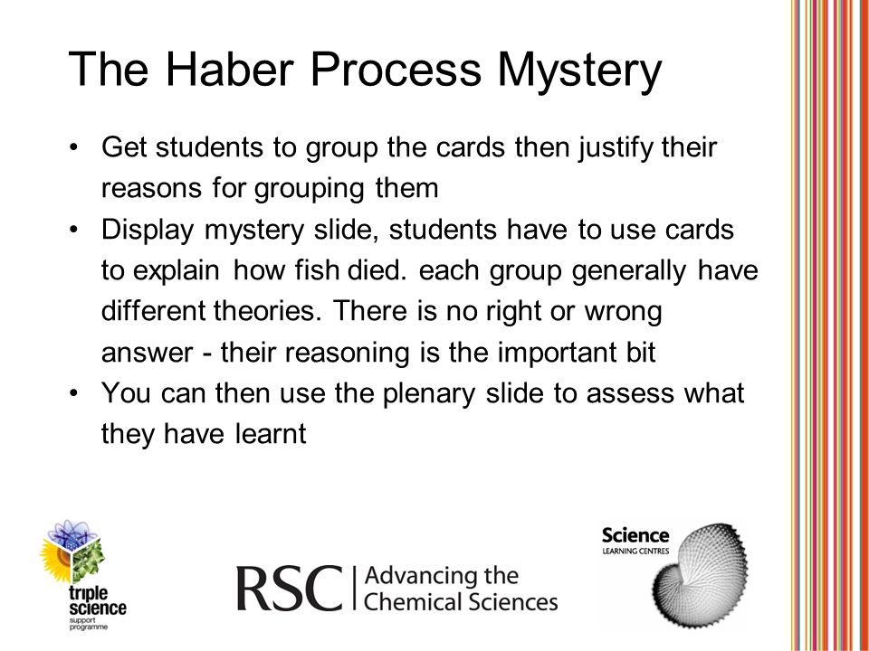 The Haber Process Mystery