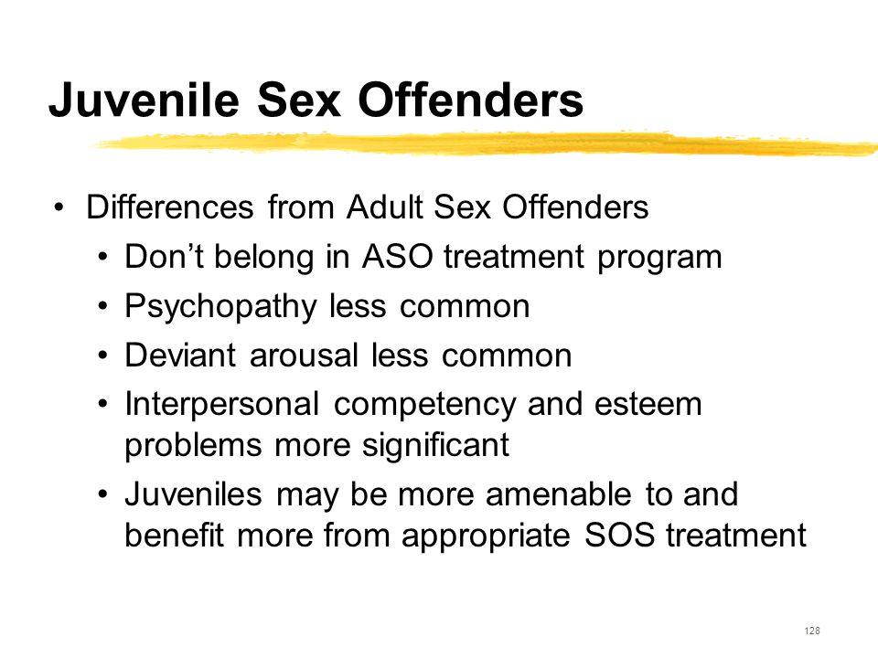 Juvenile Sex Offenders