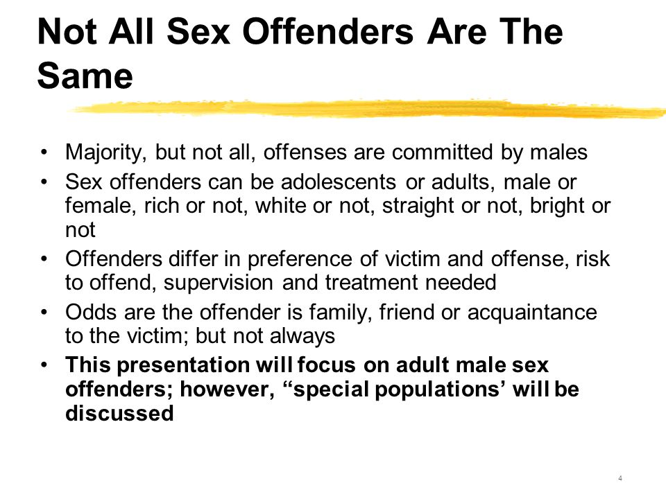 news not offender required sex treatment