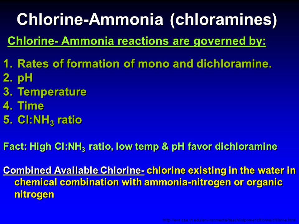 Chlorine-Ammonia (chloramines)