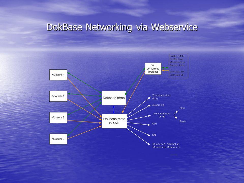 DokBase Networking via Webservice