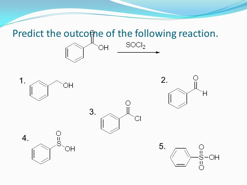 Predict the outcome of the following reaction.