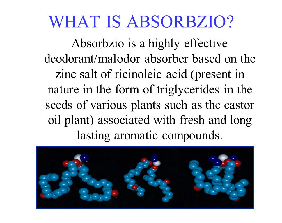 WHAT IS ABSORBZIO