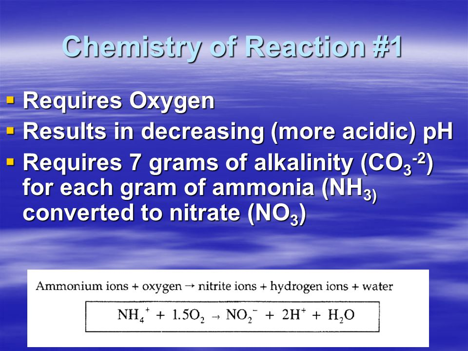 Chemistry of Reaction #1