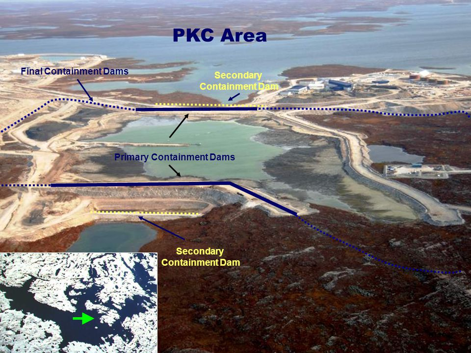 Final Containment Dams Primary Containment Dams