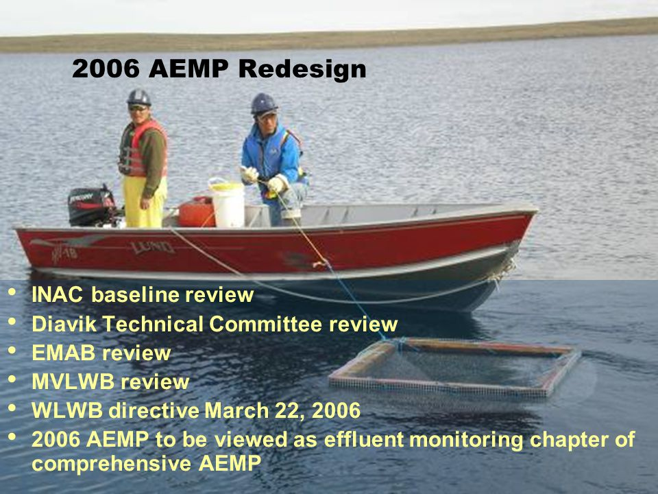 2006 AEMP Redesign INAC baseline review