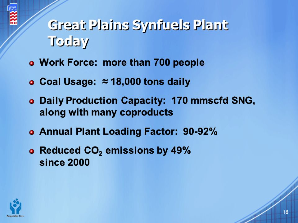 Great Plains Synfuels Plant Today