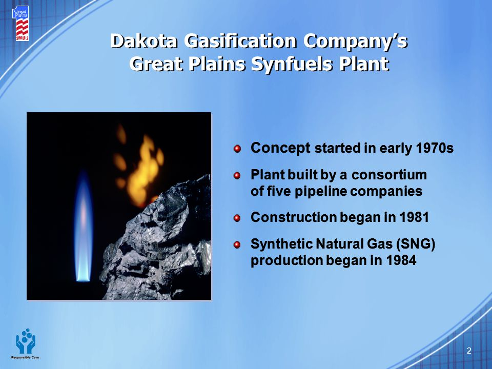 Dakota Gasification Company's Great Plains Synfuels Plant