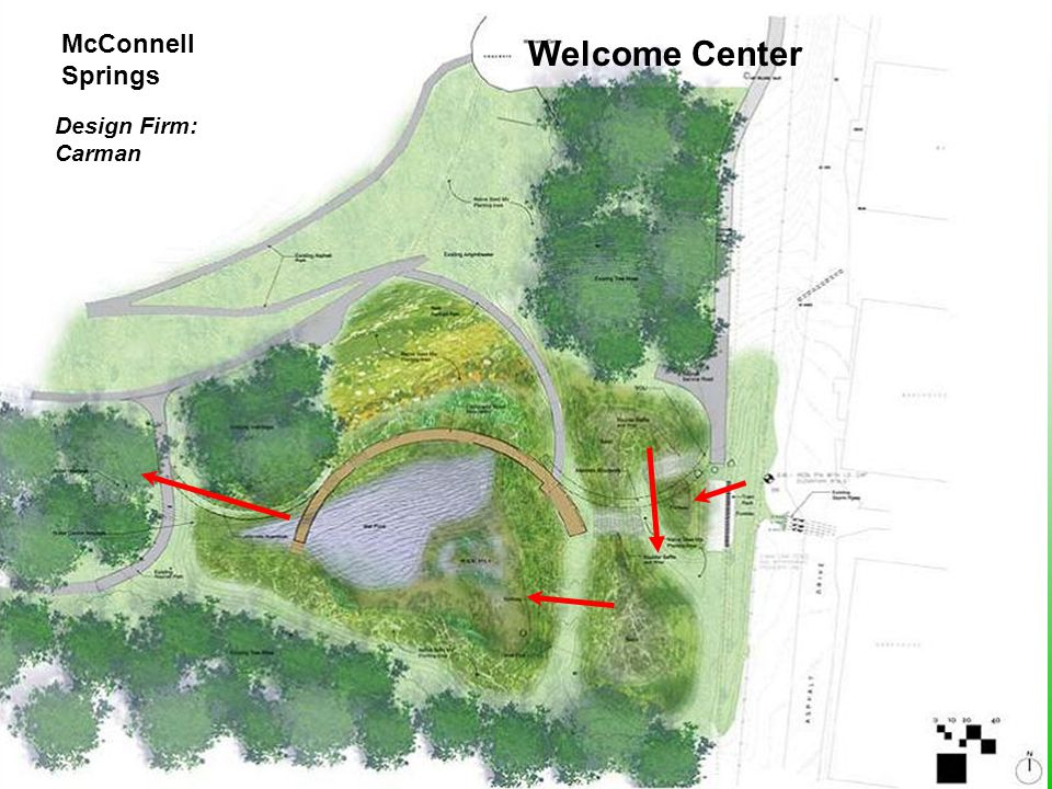 McConnell Springs Welcome Center Design Firm: Carman