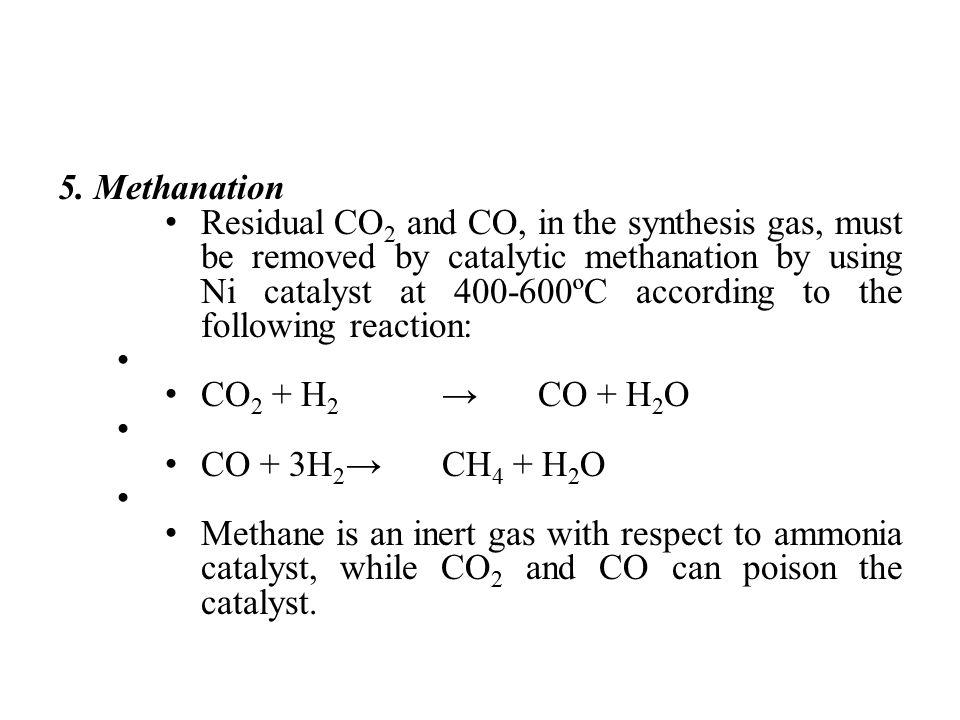 5. Methanation
