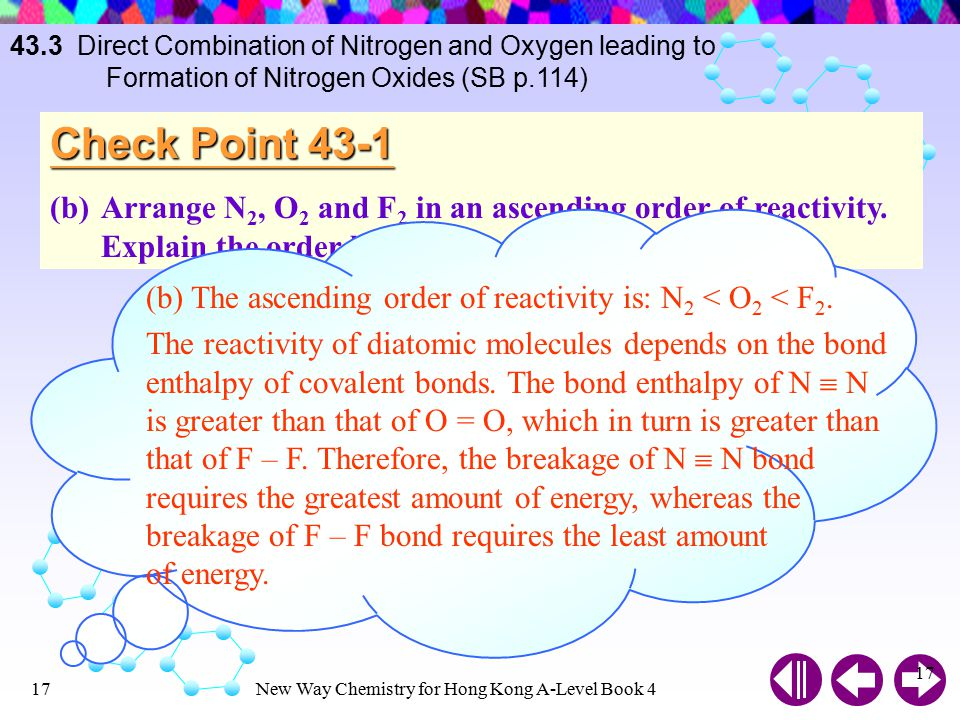 43. 3 Direct Combination of Nitrogen and Oxygen leading to