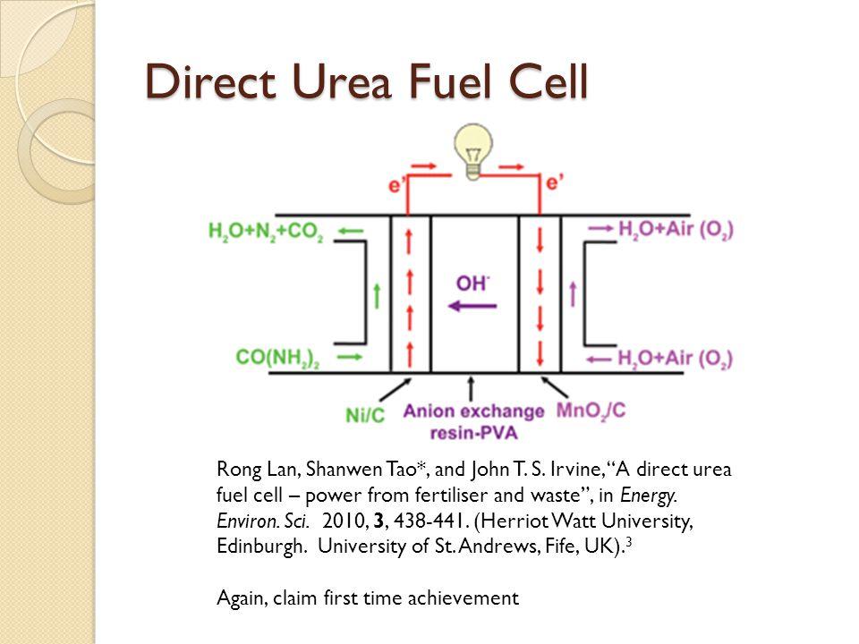 Direct Urea Fuel Cell