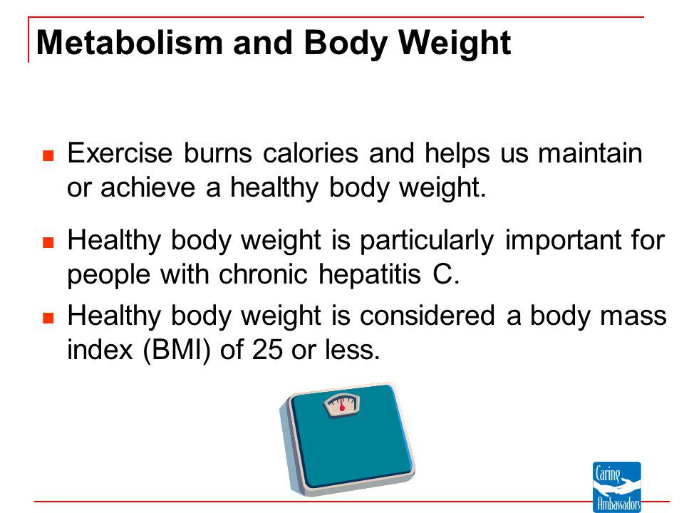 Metabolism and Body Weight