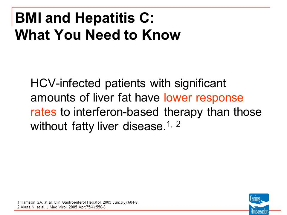 BMI and Hepatitis C: What You Need to Know