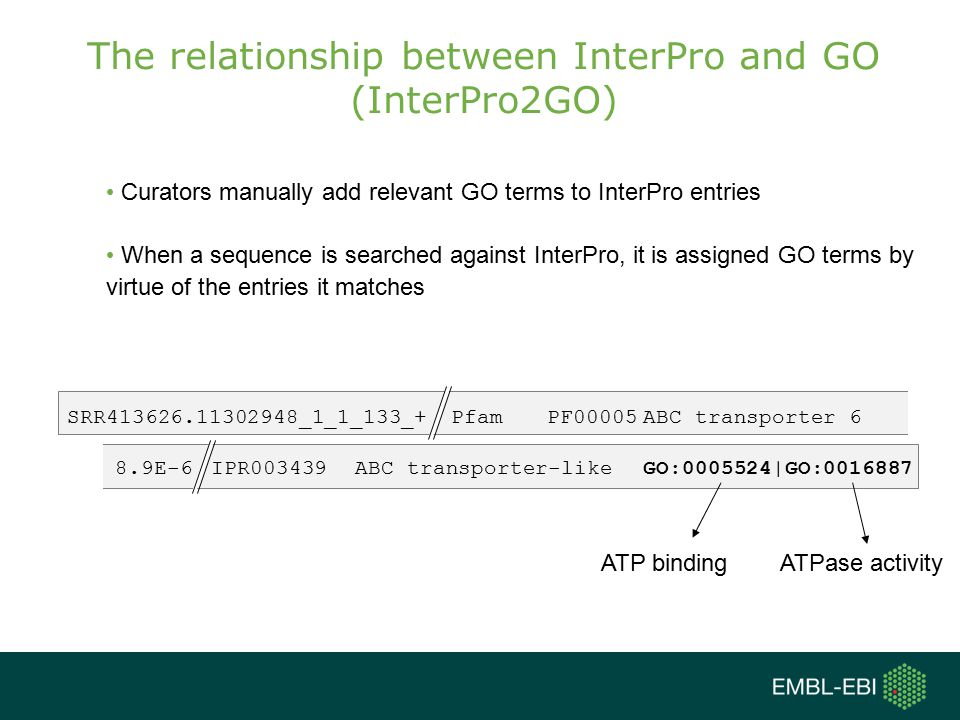 The relationship between InterPro and GO (InterPro2GO)