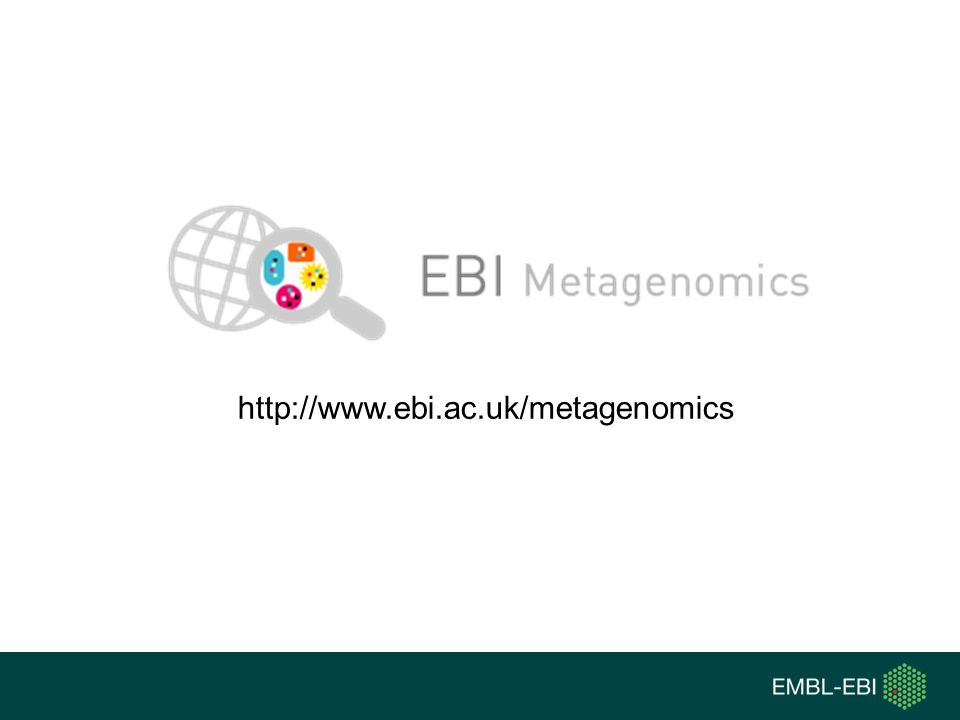 http://www.ebi.ac.uk/metagenomics