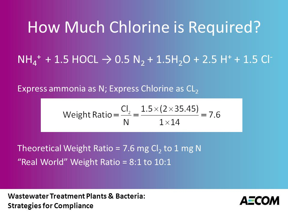 How Much Chlorine is Required